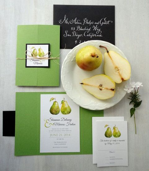 Ways To Incorporate Pears Into Your Fall Wedding