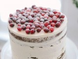 25 Winter Wedding Cakes With Berries20