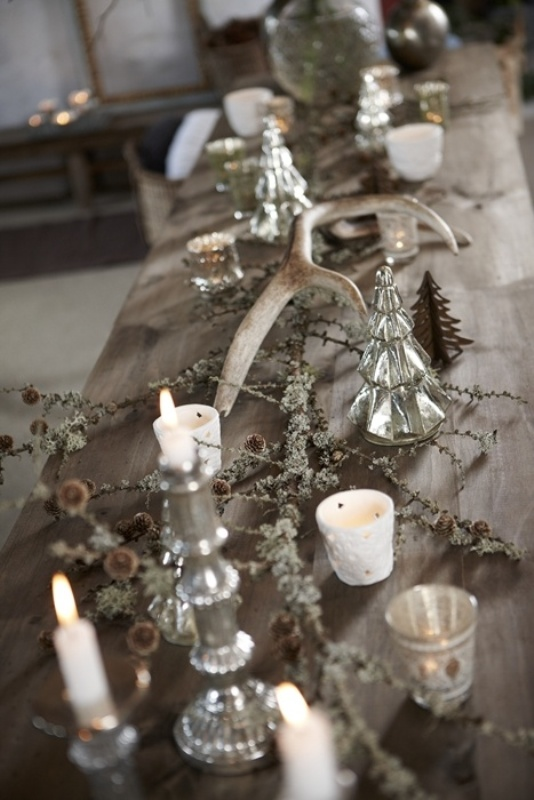 25 Amazing Antlers Decor Ideas For Your Winter Wedding
