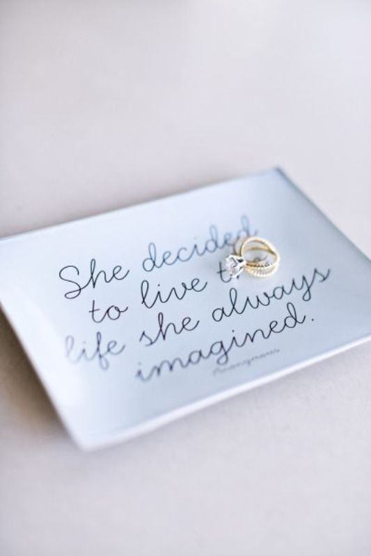 Picture Of awesome ways to use quotes on your wedding day  10