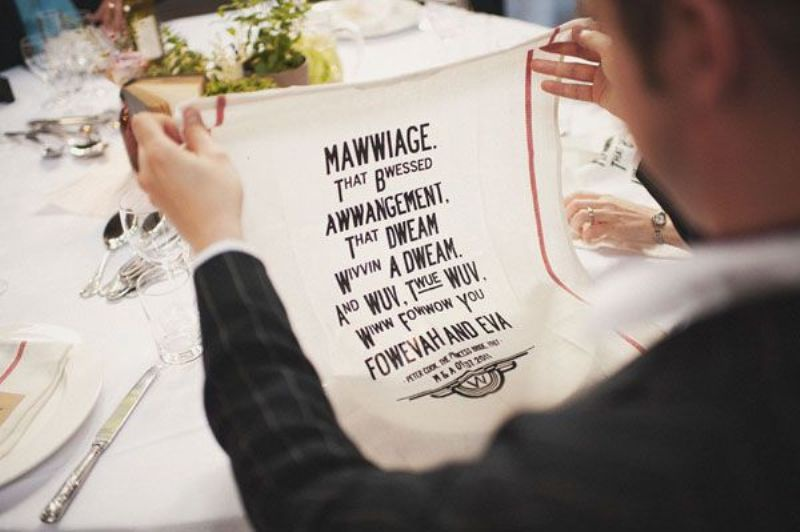 Picture Of awesome ways to use quotes on your wedding day  25