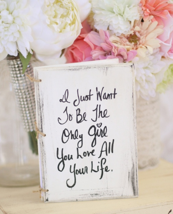 Picture Of Awesome Ways To Use Quotes On Your Wedding Day 3