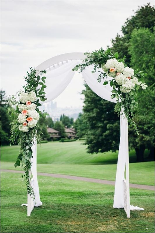 Picture Of beautiful wedding floral arches to get inspired  23