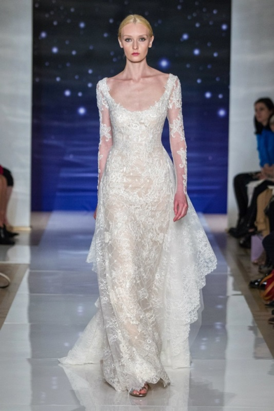 Picture Of best looks from 2016 bridal fashion week  16