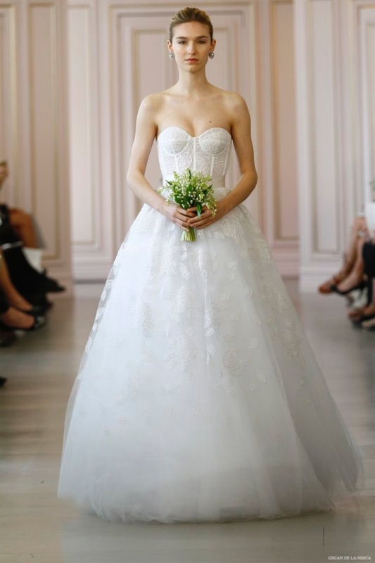 Picture Of best looks from 2016 bridal fashion week  22