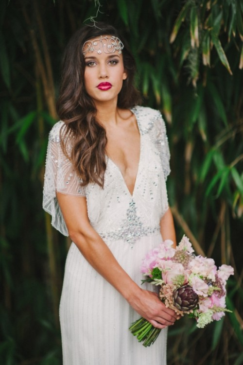 25 Breathtaking Gatsby Glam Wedding Dresses