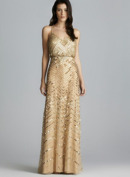 25 Breathtaking Gatsby Glam Wedding Dresses - Weddingomania