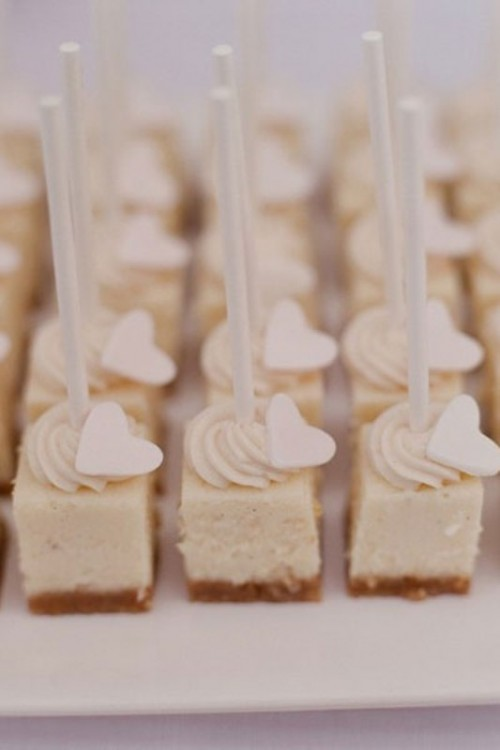 cake pops with creamy decor is a cute, simple and tasty idea that won't break the budget