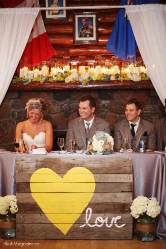 a pallet wedding sign with a heart and letters   just make any sign that you like with quotes and letters that you like