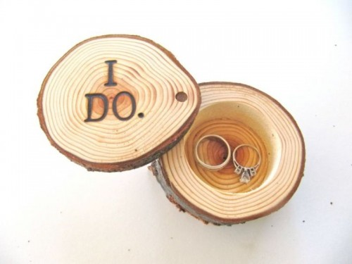 25 Creative Wedding Ring Bearer Pillow Alternatives