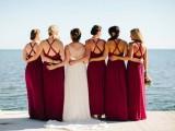 25 Falls Must Have Jewel Toned Bridesmaids Dresses