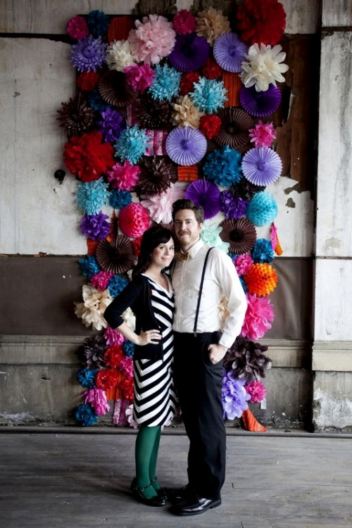 25 Fanciful Ideas Of Using Pompoms And Fans In Your Wedding Decor