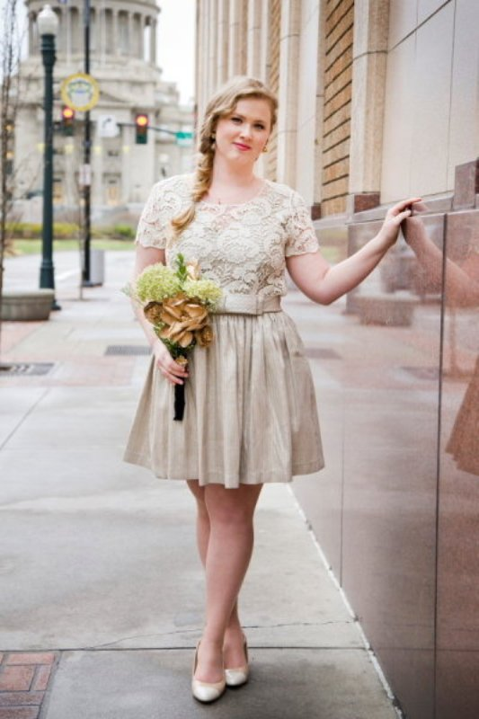 Great Elopement Wedding Dresses Ideas