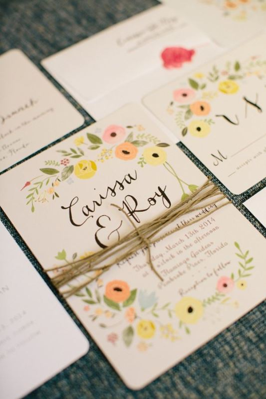 Picture Of ideas we love for garden weddings  13