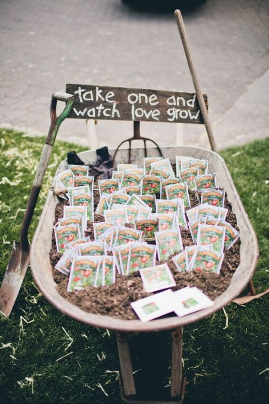 Picture Of ideas we love for garden weddings  18