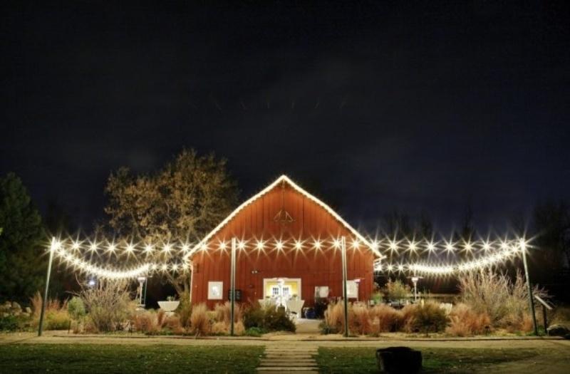 Farm themed wedding decorations