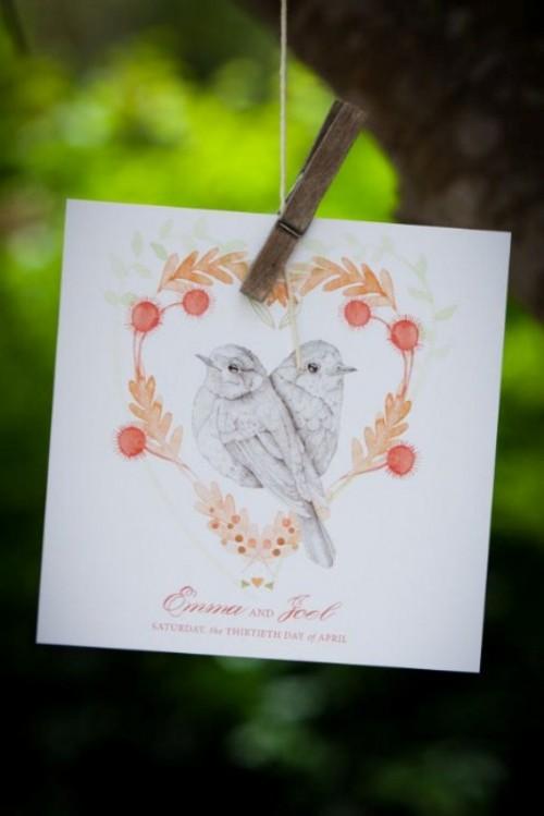 25 Love Birds Wedding Inspirational Ideas