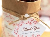cool paper bags for summer wedding favors