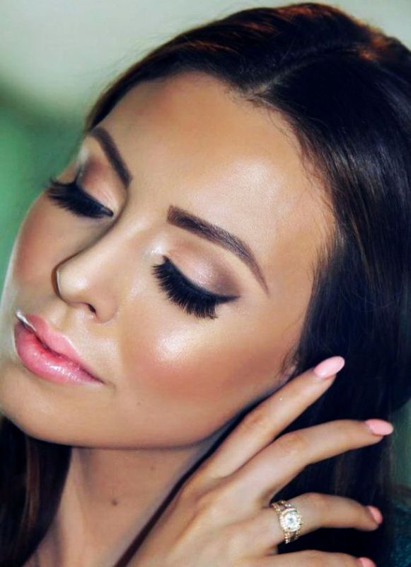 Picture Of Striking And Sexy Cat Eye Makeup Ideas For A Bride-3846
