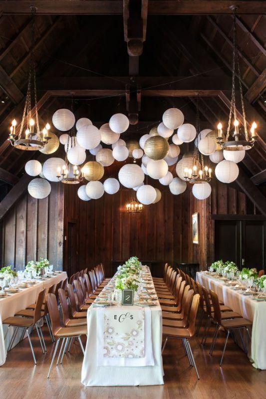 Picture Of stunning lantern wedding lightning and decor ideas  1