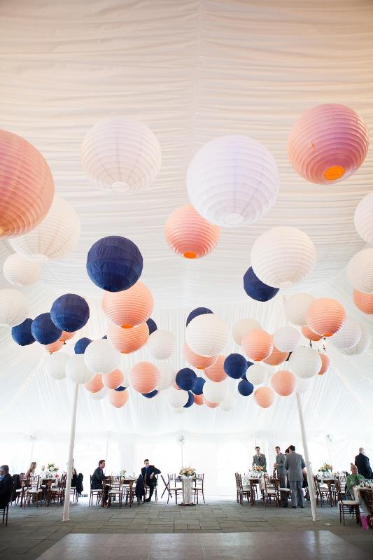 Picture Of stunning lantern wedding lightning and decor ideas  10