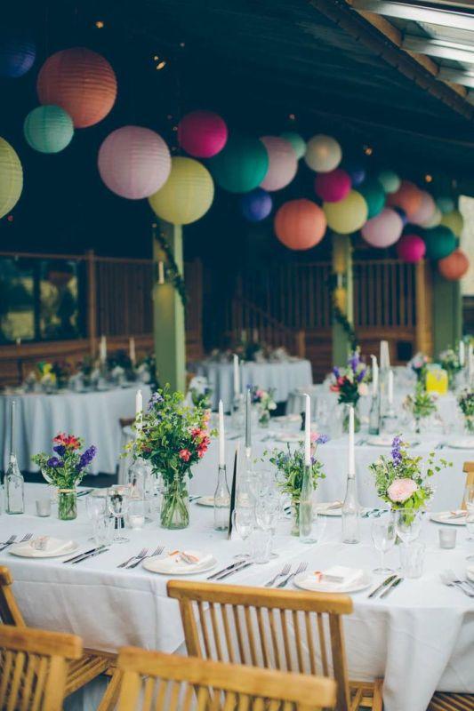 Picture Of stunning lantern wedding lightning and decor ideas  16
