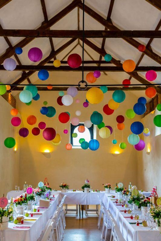Picture Of stunning lantern wedding lightning and decor ideas  22