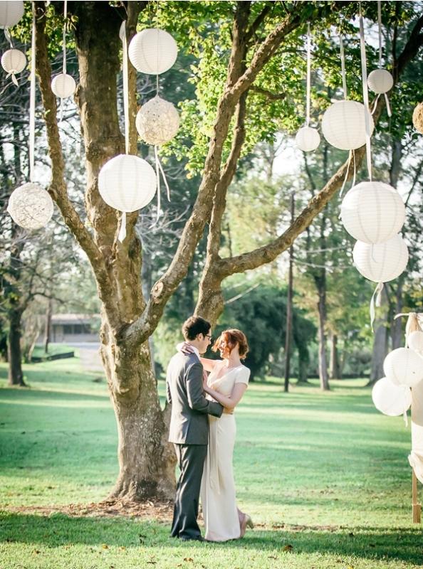 Picture Of stunning lantern wedding lightning and decor ideas  24