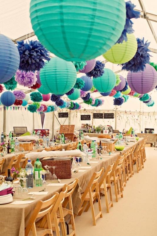 Picture Of stunning lantern wedding lightning and decor ideas  5
