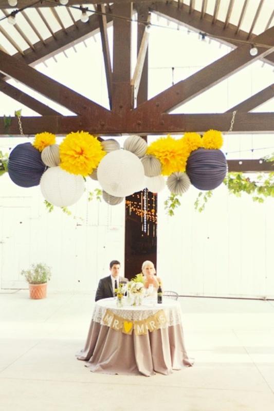 Picture Of stunning lantern wedding lightning and decor ideas  7