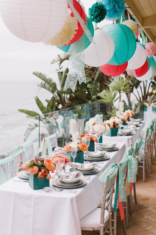 Picture Of stunning lantern wedding lightning and decor ideas  8