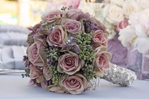 Stunning Pastel Wedding Bouquets