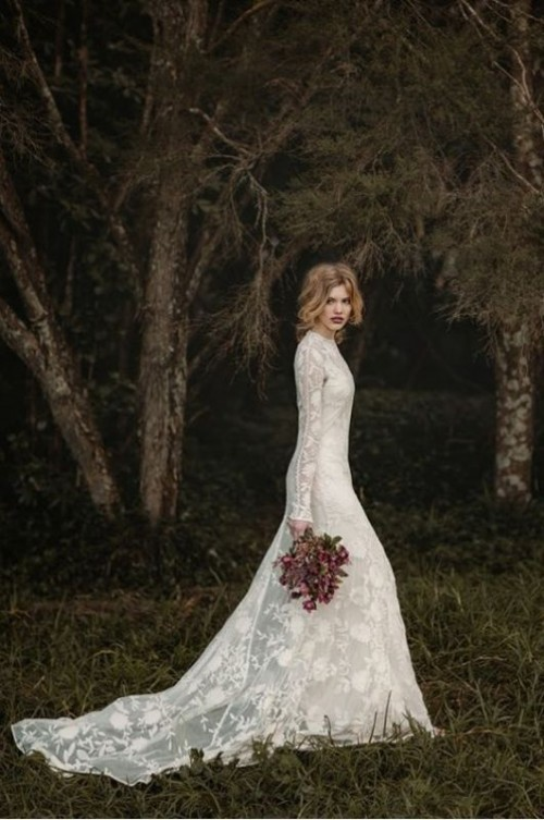 Pictures of the prettiest wedding dresses
