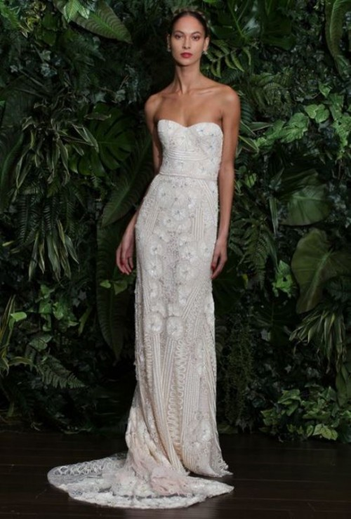 Swoon Worthy Sheath Wedding Dresses