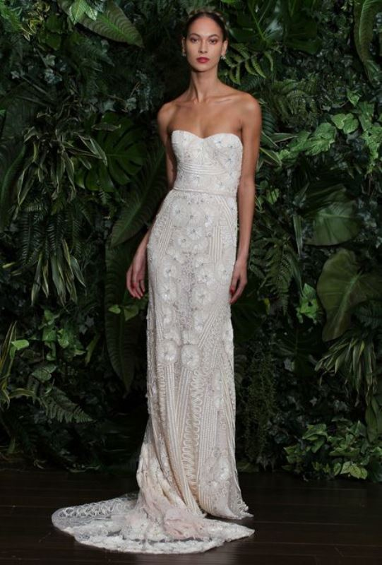 Picture Of swoon worthy sheath wedding dresses  13