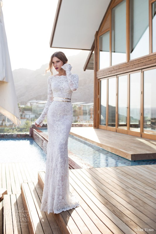 Picture Of swoon worthy sheath wedding dresses  15
