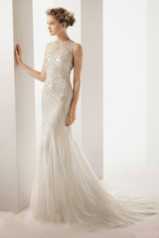 Picture Of swoon worthy sheath wedding dresses  16