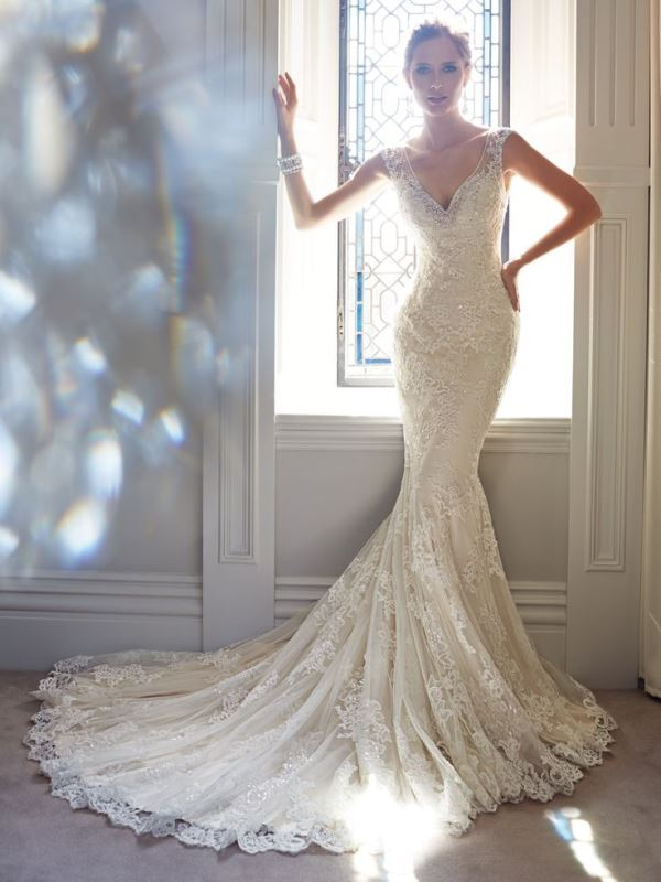 Picture Of swoon worthy sheath wedding dresses  18