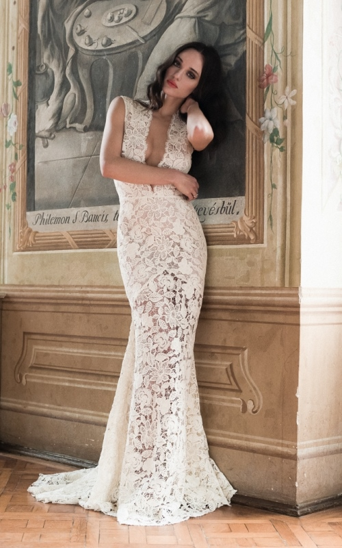 Picture Of swoon worthy sheath wedding dresses 21