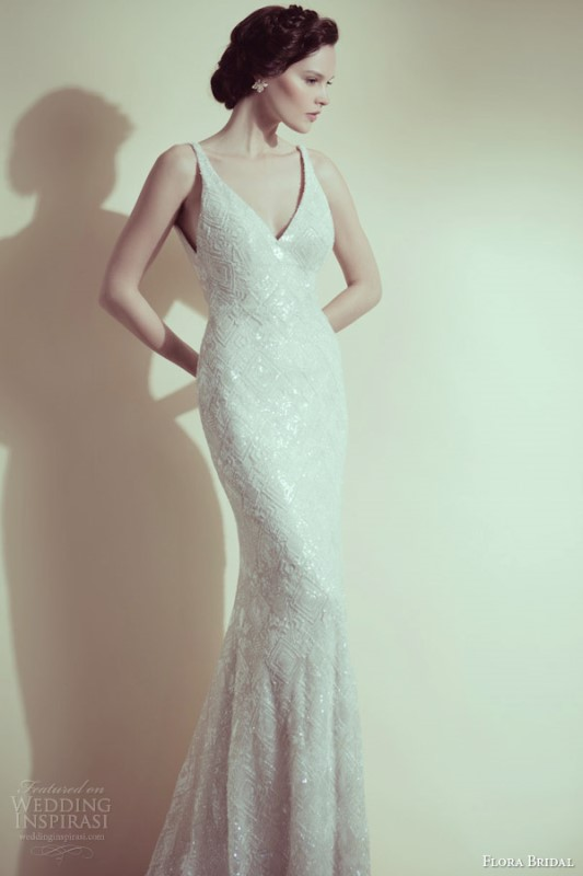 Picture Of swoon worthy sheath wedding dresses  22