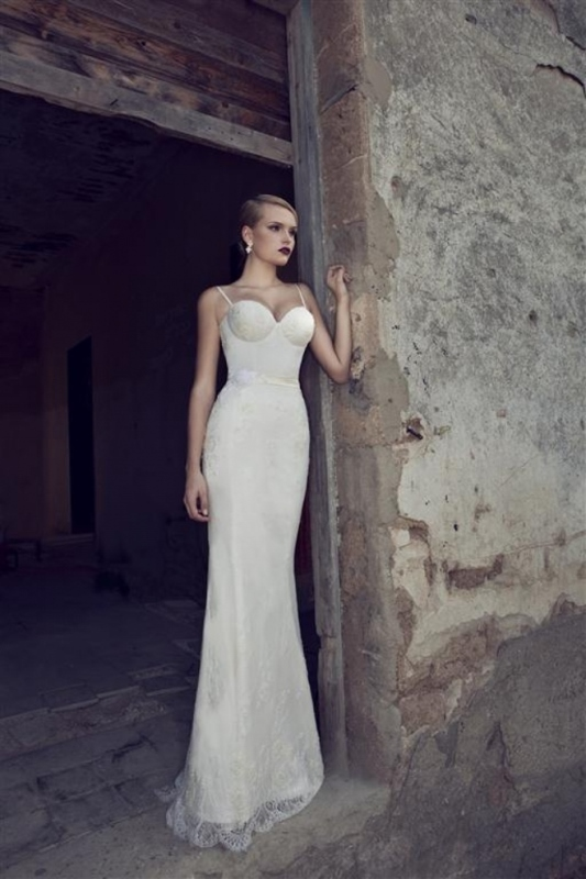 Picture Of swoon worthy sheath wedding dresses  23