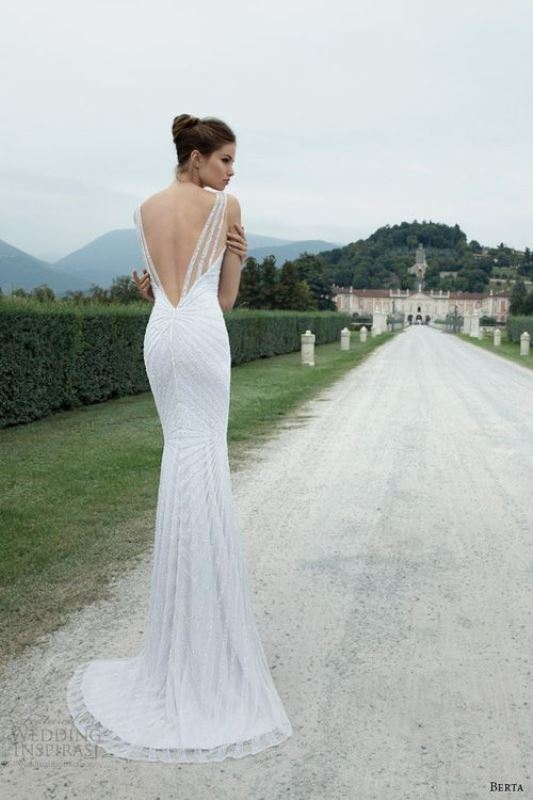 Picture Of swoon worthy sheath wedding dresses  24