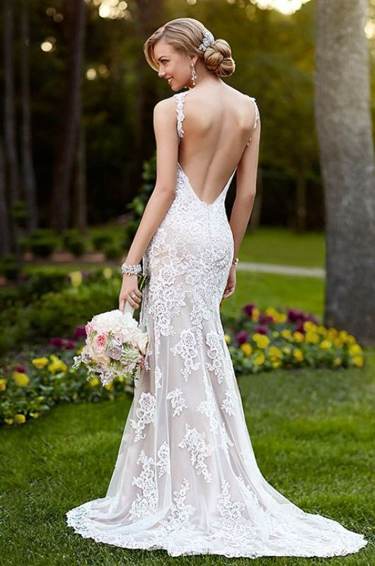 Picture Of swoon worthy sheath wedding dresses  25