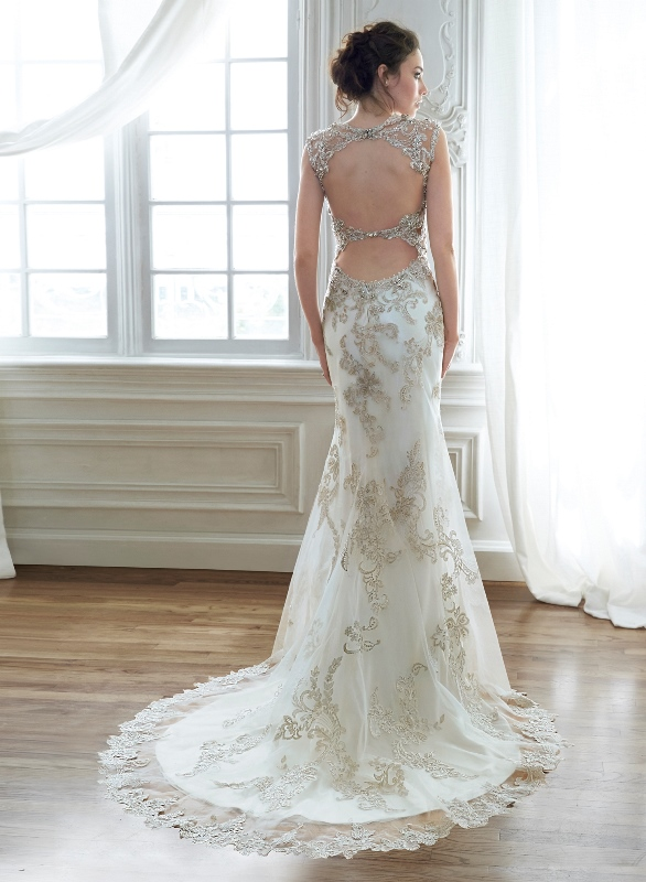 Picture Of swoon worthy sheath wedding dresses  3