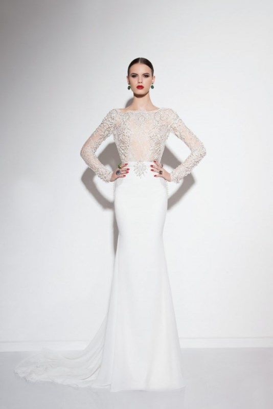 Picture Of swoon worthy sheath wedding dresses  6
