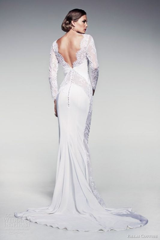 Picture Of swoon worthy sheath wedding dresses  8