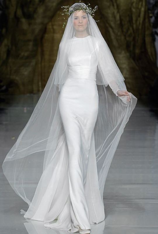 Picture Of swoon worthy sheath wedding dresses  9