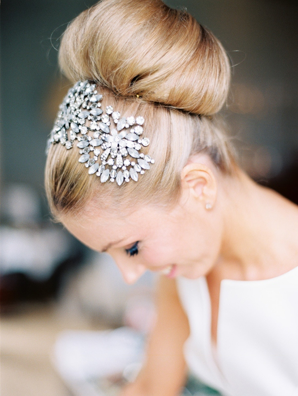 Picture Of trendy and impossibly beautiful bridal accessorized hairstyles  15