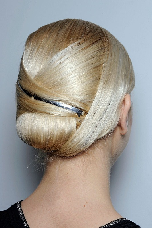 Picture Of trendy and impossibly beautiful bridal accessorized hairstyles  21