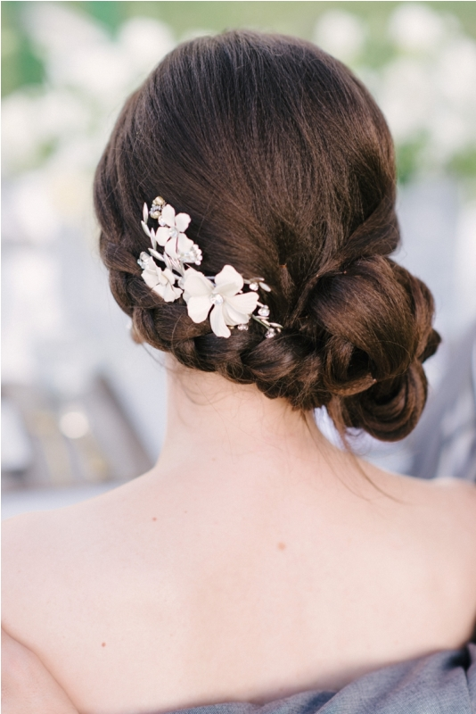 Picture Of trendy and impossibly beautiful bridal accessorized hairstyles  23